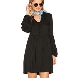 JACK by BB DAKOTA Jerrilyn Mini Black Dress Long 2